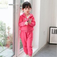 arrival suit coat - Leisure sports suit logo embroidery coat fashion hoodie and casual trousers autumn new arrival