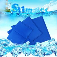 Wholesale Dog Cat Pet Self Cooling Gel Mat Heat Summer Hot Weather Bed Pad Kitten Puppy Self Cooling Cushion Seat Blanket S M L XL