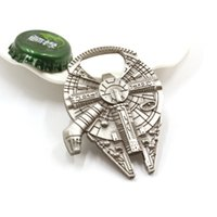 Wholesale Hot Movie Fashion Alloy Openers Jewelry Star Wars Series Spacecraft Warship Openers Pendant For Unisex b043