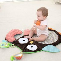 Wholesale New Baby Kids Owl Style Blanket Children Play Mat Newborn Baby Sleeping climbing games mat Kid