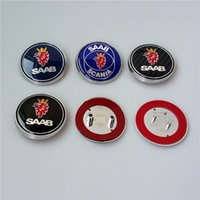 Wholesale Fashion Car Badges for Saab Vehicles mm Diameter Car Emblems for other Saab Models