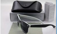 Wholesale 10pcs per High quality Designer Fashion Men Sunglasses UV Protection Beach Vintage Women Sun glasses Retro Eyewear sunglasses come with box