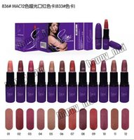 Wholesale Factory Direct DHL New Makeup M836 Selena Dreaming of You Matte Lipstick Different Colors