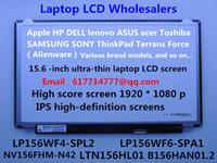 Wholesale LP156WF4 SPL2 LP156WF6 SPA1 LTN156HL01 The new LED display notebook screen IPS high definition screens p EDP30pins