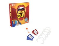amusement games - Speak Out Game Jokes Funny Amusement Toys Party Board Game Novelty Games Ridiculous Mouthpiece Challenge Game Friends and Family KTV Games