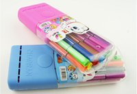 articles educational toys - Children learn articles color painting brush Lovely pen in a box of watercolors other educational toys