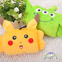 alien dogs - Pet toys Pikachu Aliens funny dog chew toys puppy plush toys tough dog toys