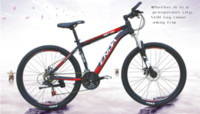 affordable road bikes - 2016 aluminum alloy Affordable promotional inch speed double disc brake Spring Fork Cycling factory mountain bike