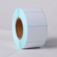 bar code label roll - 2 Rolls New x30mm Printing Label Bar Code Number Thermal Adhesive Paper Stickers High Quality For Business Supermarket