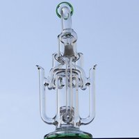 liquid glass - New liquid glass arts wing glass bong glass pipe bongs water glass percolator water pipes with mm joint