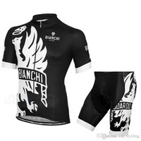 bianchi bike sizing - Bianchi Black White Cycling Jersey Short Sleeves Summer Style For Men Ropa Ciclismo Quick Dry Maillot Ciclismo Size XS XL Bike Wear