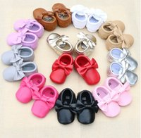 Wholesale cheap Soft bottom toddler shoes autumn winter months baby shoes Pretty bow PU fabrics children shoes pair B3