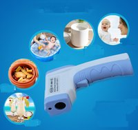 Wholesale Adult Baby Digital Infrared Thermometer Forehead Ears Body Termomete Gun Non contact Termometro Infantil fast Diagnostic tool Device