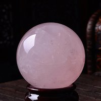 Wholesale 38 mm Stand NATURAL CLEAR QUARTZ CRYSTAL SPHERE BALL HEALING GEMSTONE p