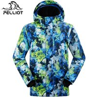 Wholesale men s ski jacket genuine Pelliot ski jacket waterproof and wind thick warm and high quality Outdoor