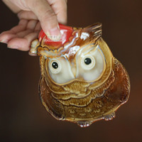 Wholesale 2016 Christmas Ornaments Crafts Creative Color Glazed Ceramic Pots Ashtray Key Birdie Grocery Store Christmas Hats Home Decoration