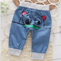 baby boy cowboy boots - The new boys minutes of pants in summer years old children s cowboy pants baby leisure trousers and thin