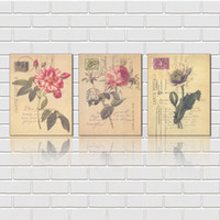 art ink stamps - Unframed Pieces art picture Canvas Prints Abstract oil painting stamp flower Chrysanthemum Carrot Orange