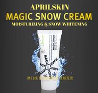Wholesale april skin the magic whitening cream white makeup moisturizing concealer cream