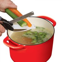 Wholesale Clever Cutter in Food Chopper Replace your Kitchen Knives and Cutting Boards