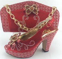 bag buyer - Buyer favorite style african pumps and matching bag for party clothing ME3313