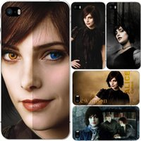 alice cullen - Hot alice cullen Protective White Hard Plastic Case For Iphone S