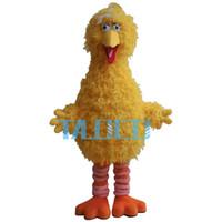 big bird mascot - Big Yellow Bird Mascot Costume Cartoon Character Costume Party