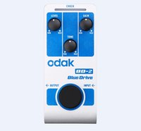 bd oem - GGEC odak BD odak New Style Guitar Effect Pedal blue drive Trigger Tempo guitar effects pedals OEM guitar pedal factory direct sell