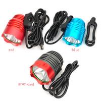 Wholesale NEW Hot Sale Lumen Super Bright XML T6 LED Bike Light Headlamp Waterproof Mode LED Bicycle Light Flashlight