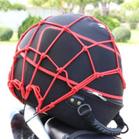 Wholesale 100pcs x40 CM Motorbike Motorcycle Cargo Hooks Holder Down Net Bungee Helmet Web Mesh Motorcycle Luggage Net40CM