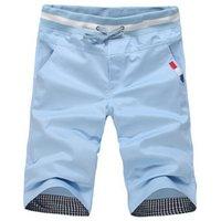 Wholesale Cheap Sales Summer New fashion men s Shorts Men casual Sport Shorts cotton Men solid color Short pants beach surf