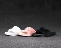 Wholesale Send With Original Boxes Leadcat Fenty Rihanna Shoes Women Slippers Indoor Sandals Girls Fashion Scuffs Pink Black White Grey Slide