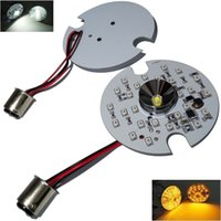 Wholesale 1157 LED Turn Signal for Harley Daytime Running Light Touring White Amber Dual YY259