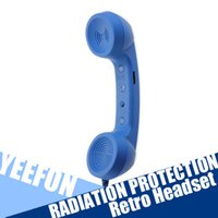 Wholesale Mic Retro POP Phone Telephone Handset Radiation Protection Fashion Protable for iPhone