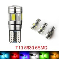 Wholesale 10 Error Free led W5W T10 SMD CANBUS License Plate Lights Clearance light Reading Light Reversing Lamp