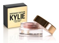 Wholesale Hot Kylie Jenner makeup Birthday Edition Creme Shadow Copper Rose Gold eye brown makeup eyeshadow High Quality