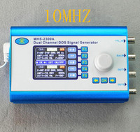 Wholesale MHS2300A MHZ CNC double channel Arbitrary waveform DDS function generator Signal source ultra low power consumption