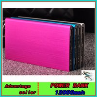 Wholesale universal power bank Ultra thin mah mobile power banks iPhone6 Samsung HTC mobile phone charging