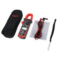 Wholesale UNI T UT203 UT Digital Clamp Meter Multimeter Ohm DMM DC AC Current Voltmeter A