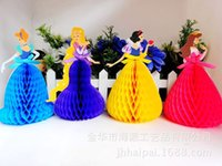 Wholesale Exquisite High Archives Three dimensional Originality Greeting Card Fairy Tale Princess D Manual Greeting Card Postcard