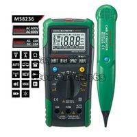 analogue phone - MASTECH MS8236 Autoranging Digital Multimeter LAN Tone Phone Detector Cable Tracker Voltage Tester