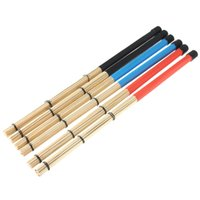 Wholesale pair of cm Professional Bamboo country Jazz ballad Percussion Drum Brushes Bundle Drum Sticks with Rubber handle
