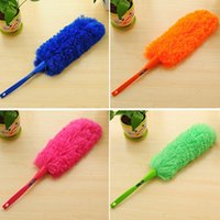Wholesale New Soft Microfiber Cleaning Duster Dust Cleaner Handle Feather Static Anti Magic