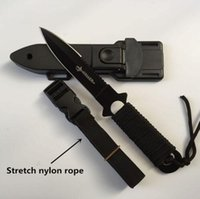 Wholesale 2016 Hot Stainless Steel Survival Knife Fixed Blade Knife Outdoor Folding Pocket Knives