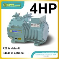 Wholesale 4HP refrigeration compressor for ice cream machine replace Bitzer EC Y or Frascold compressor