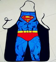 adult vintage novelty gifts - New fashion Sexy Novelty Adult Vintage Kitchen Cooking Apron superman for men women gifts WT