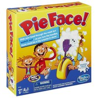Wholesale Running Man Pie Face Game Cream Hit Face Home Parent and Child Games Novelty Fun Anti Stress Prank Funny Rocket Toys kids toys D001