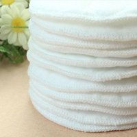 Wholesale 10pcs Reusable Nursing Breast Pads Washable Soft Absorbent Feeding Breastfeeding Pad