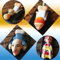 Wholesale Funny Jokes Toy Sound Activated Pen Stand Holder Butt Pen Holder novelty work pen holder Birthday Gify Toy