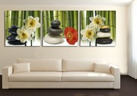 bamboo wall hangings - New print Oil Paintings Bamboo Flower Landscape Picture Canvas Painting On Wall Pictures For Living Room Decor Hang Paintings no frame